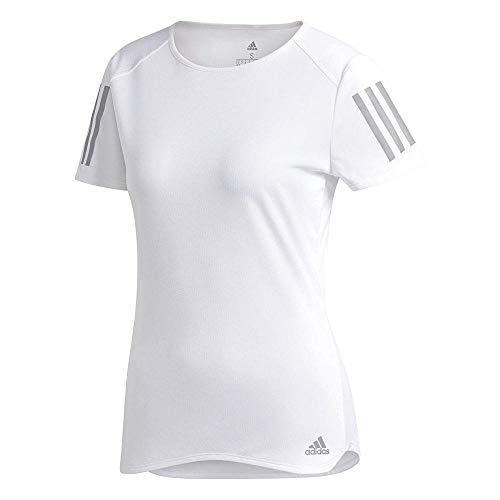 adidas Damen Response Kurzarm T-Shirt White, M