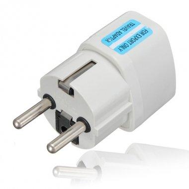 Universal AU US UK to EU Europe Plug AC 250V Power Travel Adapter - Travel Ac Power Plug