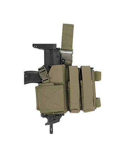 8FIELDS SMG Thigh Strike Systems MP9/MP5/UMP Thigh Multi Pistol Mag MP