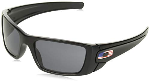 Oakley Herren 0OO9096 Sonnenbrille, Schwarz (Matte Black), 60