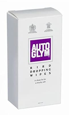 Auto Glym Bird Dropping Wipes