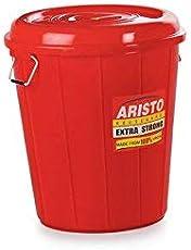 Multipurpose Plastic Storage Bucket 30 LTR (Red)