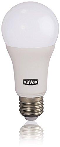 Xavax High Line LED-Lampe E27, 10,5W (ersetzt 75W), 1060lm, Glühlampenform, warmweiß