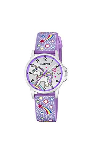 Calypso Watches Reloj Analógico para Unisex Niños de Cuarzo con Correa en Plástico K5776/6
