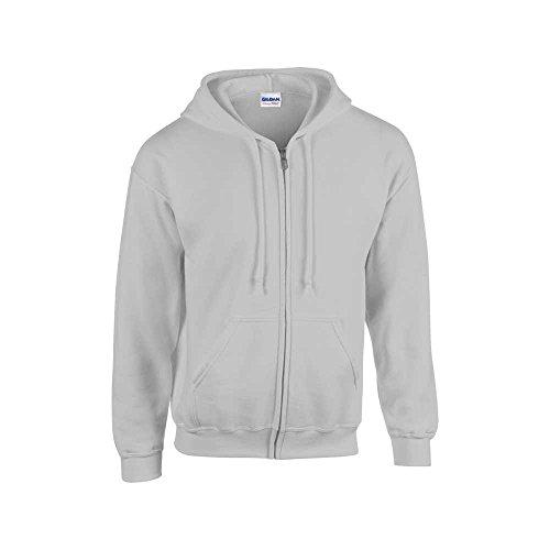 Gildan Heavyweight Blend Youth Full Zip Hooded Sweatshirt - Best Full Zip Hooded Sweatshirt