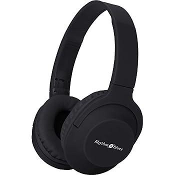 Rhythm&Blues A300 On-Ear Wired Headphones with mic (Black)