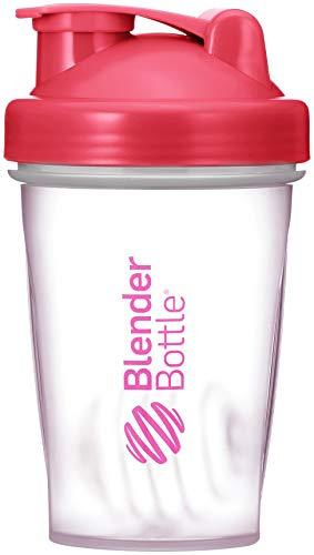 BlenderBottle Original Classic, Shaker per Frullati di Proteine Unisex – Adulto, Pink/Transparente, 590ml