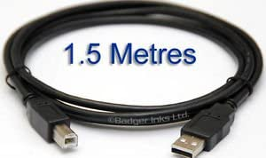 Terabyte USB Printer Cable(Highspeed)1.5 Meter - Color may vary