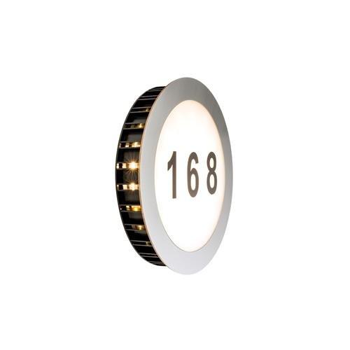 Paulmann 937.69 Hausnummernleuchte, Glas, Integriert, weiß
