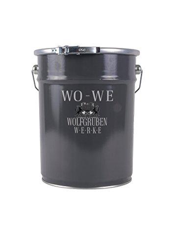 5L NANO FASSADENFARBE - WEISS SEIDENMATT - WANDFARBE FARBE ABPERLEFFEKT FASSADEN AUSSEN WASSERABWEISEND WOLFGRUBEN WERKE (WO-WE) W520 l Gebinde - 5 Liter