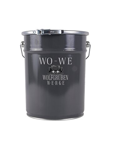 10L NANO FASSADENFARBE - WEISS SEIDENMATT - WANDFARBE FARBE ABPERLEFFEKT FASSADEN AUSSEN WASSERABWEISEND WOLFGRUBEN WERKE (WO-WE) W520 l Gebinde - 10 Liter (Wo-a-l)