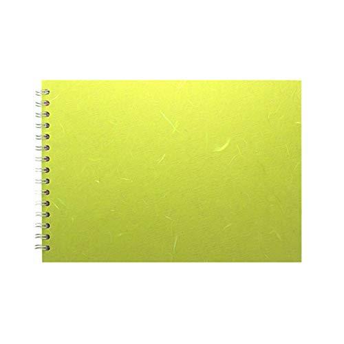 Pink Pig Einband, A4, Lindgrün, braunes Papier, L/Querformat