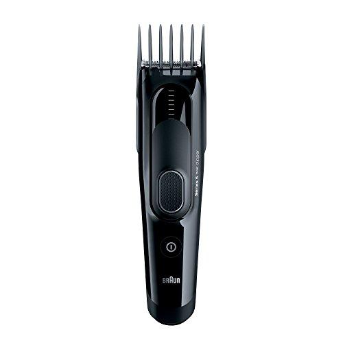 Braun Series 5 Haarschneider HC5050 Haarschneidemaschine / Langhaarschneider (einsetzbar als Trimmer), schwarz