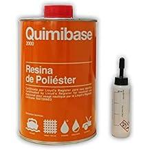 Resina Poliester 1 kg + Catalizador (1 kg)