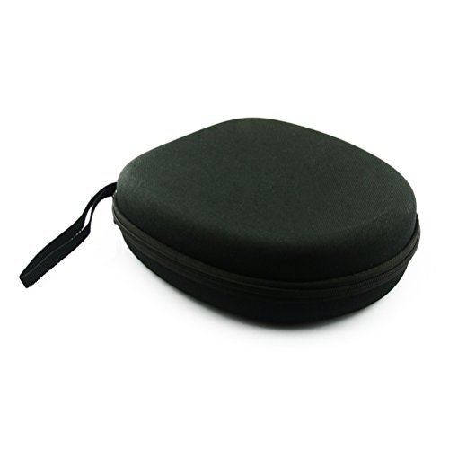 NUOLUX Headphone Case Bag Pouch Cover Box for Sony MDR-ZX100 ZX110 ZX300 ZX310 ZX600 Headphones (Black)  available at amazon for Rs.1859