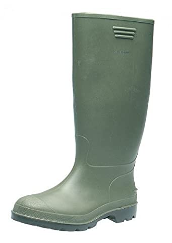 Womens Dunlop Green Wellies Wellington Boots