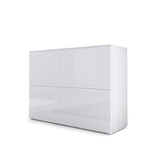 . High White Gloss Furniture  Amazon co uk
