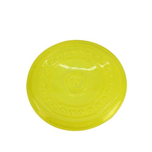 LXYU Hund Frisbee Hund Spielzeug Pet Frisbee/Hundetraining Spielzeug Gummi Supplies -