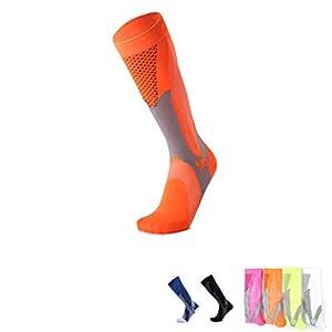 TMDFight Short Tube Compression Socks Männer und Frauen Marathon Outdoor Sports Socken Erwachsene Laufen Compression Socks
