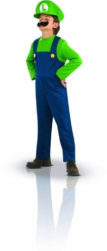 Disney Mario Bros–i-883654–Kostüm–Kostüm–Luigi, 5 - 7 Jahre (Medium)