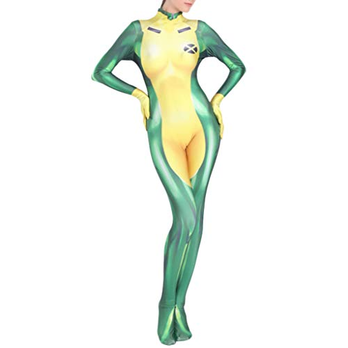 Kostüm Damen Lycra Jumpsuit Onesies Halloween Party Maskerade Performance Kleidung Geschenk, Child-L ()