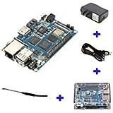 Banana Pi BPI M3A83T Octa-Core (8-Core) 2G LPDDR3+ 8gbemmc Open-Source-Entwicklung board Single Board CO Raspberry Pi kompatibel, Schiff mit Leistungsstark ACC