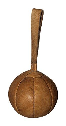Preisvergleich Produktbild Schleuderball aus Leder 1 kg