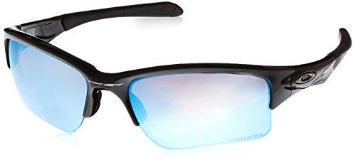 Oakley Herren^Unisex Erwachsene Quarter Jacket 920016 61 sonnenbrille, Schwarz (Polished Black/Prizmdeeph2Opolarized),