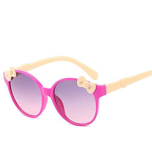 Wang-RX Kindersonnenbrille Kindersonnenbrille Jungen und Mädchen Sonnenbrille Baby Boy Girl UV400