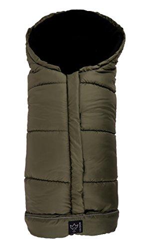 Kaiser Iglu - Saco cubrepiernas de forro polar para silla de paseo, color caqui