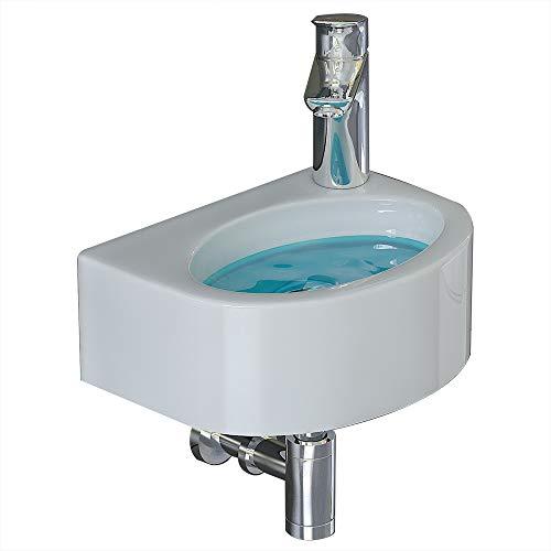 bad1a Waschtische/Waschbecken für Ihr exklusives Bad/Gäste WC/Design Keramik Handwaschbecken/Badezimmer