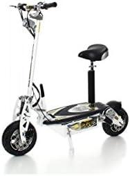 SXT scooters Trottinette électrique 1000 XXL Brushless 1600w Brushless XXL Blanche Batterie Plomb 48V 12Ah a58915
