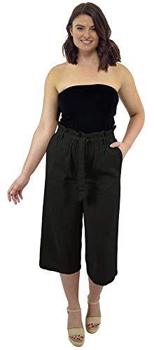 CityComfort Pantalones de Lino para el Verano