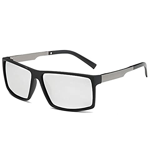 Z-P Retro Men's Outdoor Sports Bicycle Driving Polarized Lens Sunglasses 64MM