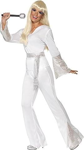Disco Porter Costumes - Smiffys Déguisement Femme Disco Années 70, Haut,