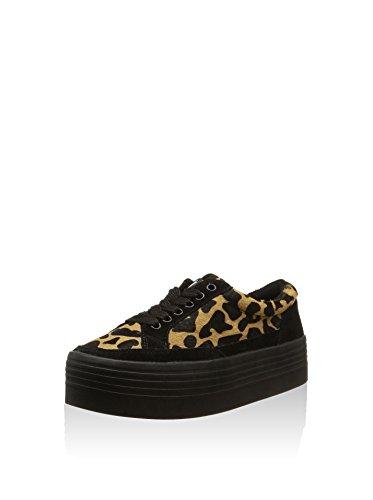 Sixtyseven Animal Print, Sneaker donna Marrone Leopardo 40