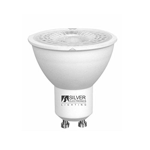Silver Electronics 1440810 LED Eco dichroic GU10, 5 W, Blanc