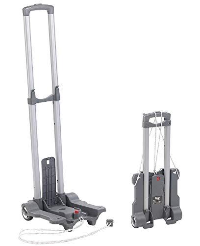 Xcase Transportkarre: Ultra-kompakte Falt-Sackkarre mit Nylon-Rädern, bis 45 kg belastbar (Transportwagen)