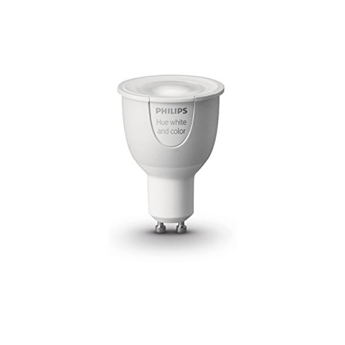 Philips Hue White and Color Ambiance - Bombilla LED individual (1 x...