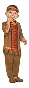 Atosa-27693 Disfraz Indio, color marrón, 6 a 12 meses (27693)