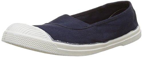Marine-blau-damen-tennis-schuhe (Bensimon Damen Tennis Elastique Sneakers, Blau (Marine), 39 EU)