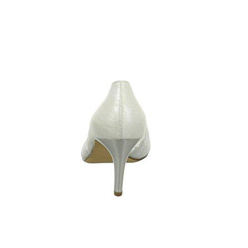 Coperto Tacco 1 Scarpe Piedini Donna Col 10 Grigio Anteriori 6738 Högl dZ8XxRX