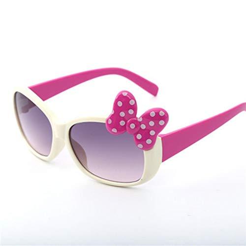 MoHHoM Sonnenbrillen Für Kinder,Fashion Cat Eye Cute Bug Kinder Sonnenbrille Für Junge Mädchen Baby Sonnenbrille Kinder Sport Outdoor Schatten Brillen Uv400 Beige