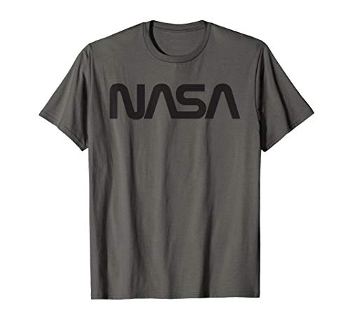 NASA Shirt, Worm Logo Abzeichen Trendiges Grafik Fun T-Shirt -