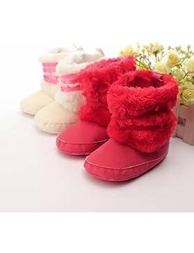 Bebé Bebé caliente suave soled botas zapatos de algodón antideslizante