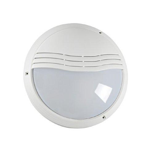 hublot décoratif extérieur rond diamètre 270 mm aric 270tp blanc