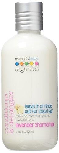 Kamille Conditioner (Nature's Baby Organics Conditioner & detangler, Lavendel Kamille 8 Unzen (2-Pack) - Babys, Kinder, Erwachsene! feuchtigkeitsspendend, sanft, reich, hypoallergen)