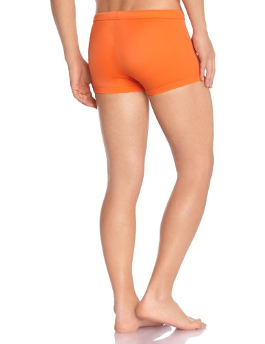 Hom Marine Chic Swim Shorty - Maillot de bain boxer - Uni - Homme Orange