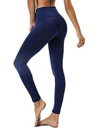 d0d740aa0e4a55 INSTINNCT Damen Yoga Lange Leggings Slim Fit Fitnesshose Sporthosen
