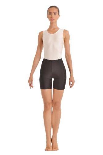 Turnarena Damen Spandex Shorts, Größe:Damen 34;Farbe:weiß (Spandex Farbe Weiße)